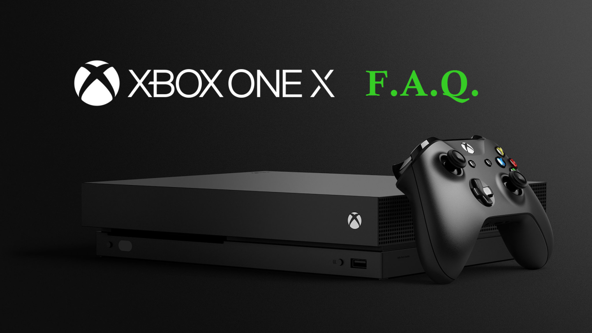 Xbox One X : Setting the Record Straight and Technical FAQ