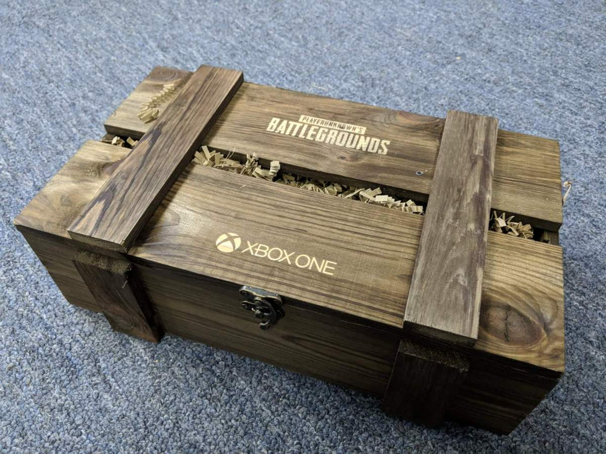 Microsoft Sending PUBG Crates to Some Journalists