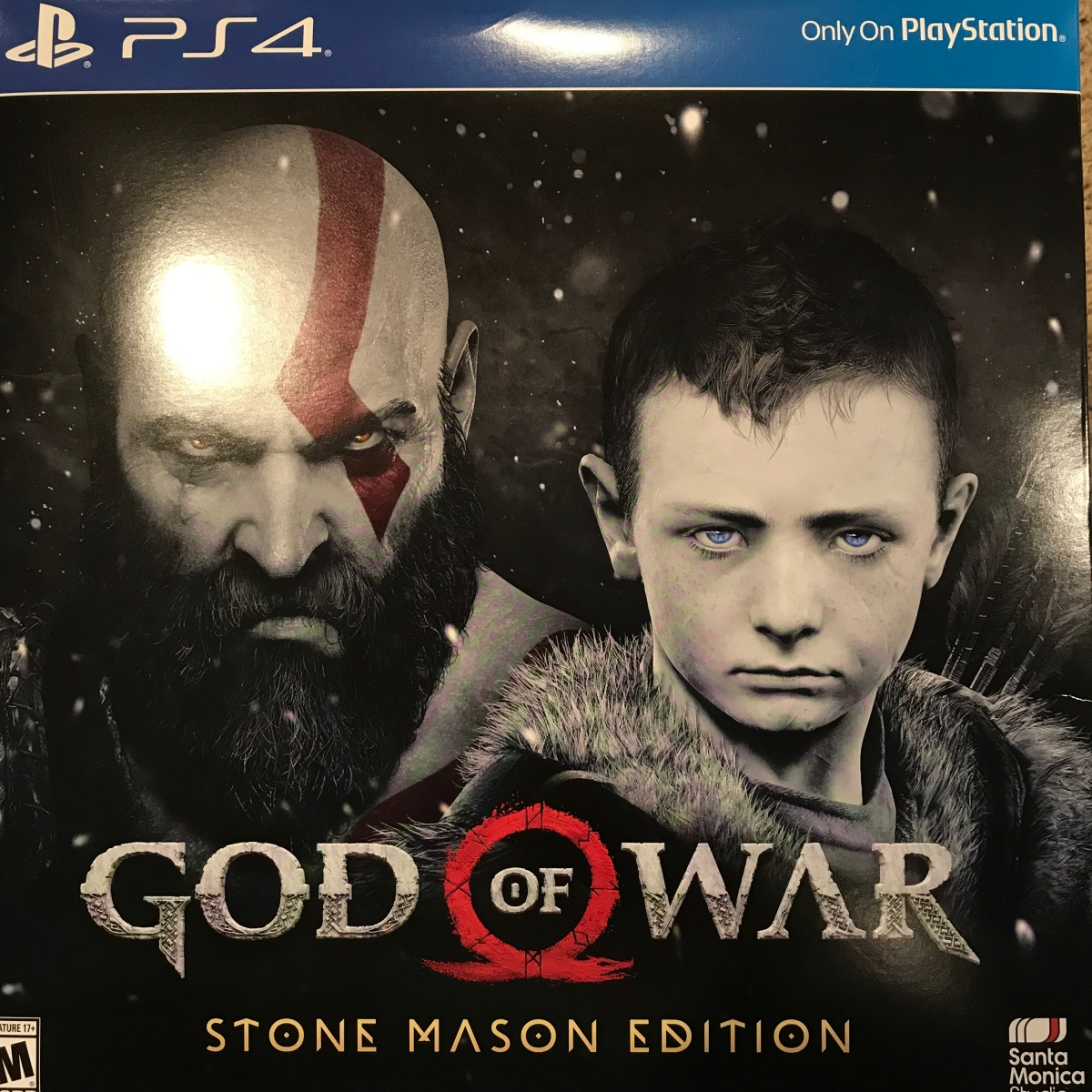 Unboxing : God of War Stone Mason Collector's Edition